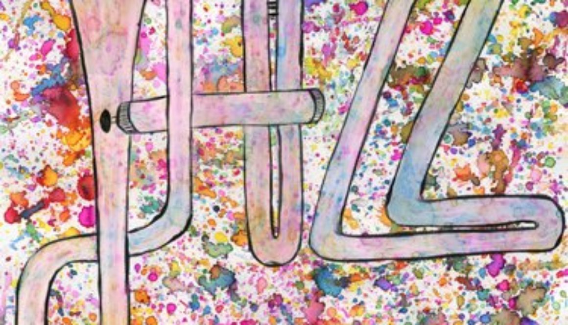 Anina Van der Vorst winning poster design 2014 BerkshiresJazz Student Art contest
