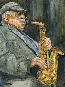 Phil Woods portrait