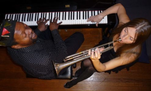 Laroo/Byrd 4tet, dinner show on July 14, featuring Rick Rozie and Jocelyn Pleasant
